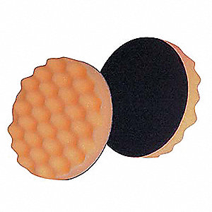 "Compound Pad,WaffleFace,3-1/4"",Foam,PK50"