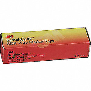 White Wire Marker Tape Refill, Polyester Film, No. of Labels: 576