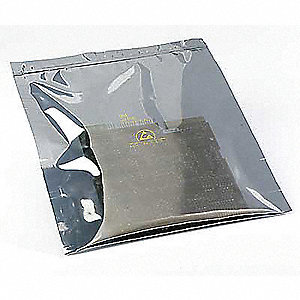 Esd Anti Static Shielding Bag Translucent Zip Lock Resealable Bags Us