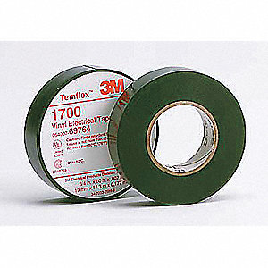 3M PVC Electrical Tape, Black, 100 PK - 2FZD4|1700-3/4x60FT-1 5core