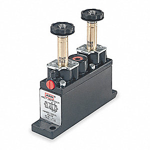 "1/8"" 120VAC, 4-Way/2-PositionSolenoid Air Control Valve"