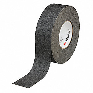 "Anti-Slip Tape,Black,2"" W,60 Grit,PK2"