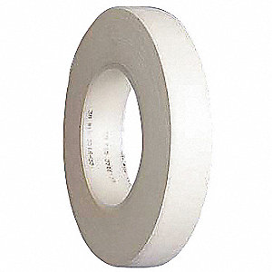 "3/4"" x 60 yd. Cloth Tape, White, Package Quantity 48"