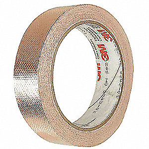 Foil Tape,3/4 In. x 18 Yd.,Copper,PK12