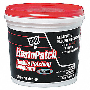 Patching Compound,1 qt,Pail,White