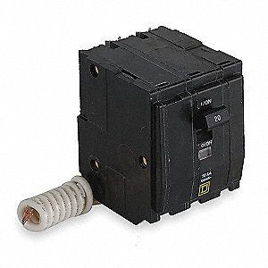 Plug In Circuit Breaker, QO, Number of Poles 3, 20 Amps, 240VAC, Switched Neutral