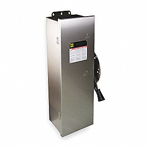Safety Switch, 3, 3R, 4, 4X, 12 NEMA Enclosure Type, 200 Amps AC, 125 HP @ 600VAC HP