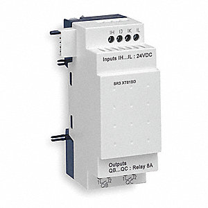 Extension Module, Number of Inputs: 4, Number of Outputs: 2, Power Required: 24VAC