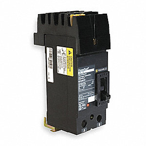 Plug In Circuit Breaker, QO, Number of Poles 2, 150 Amps, 120/240VAC, Standard