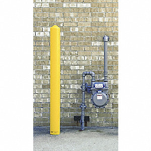 "5-1/4""D x 56""H Yellow Post Sleeve"