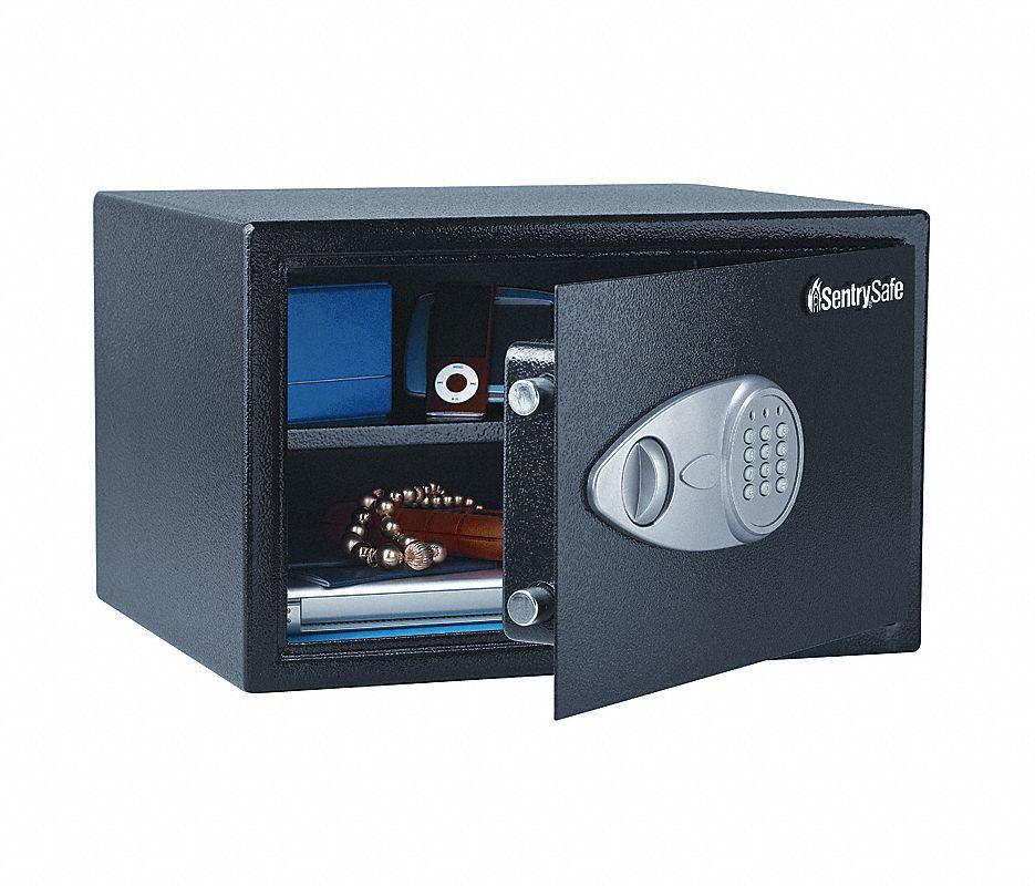 Security Safe,1.2 cu ft,Black