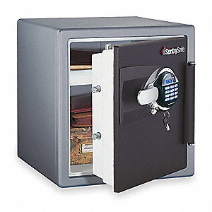 Security Safe, Black/Gray