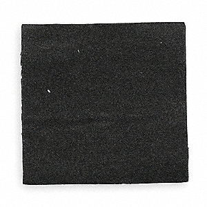 Pavement Marker Pads,Blk,4x4In,PK100