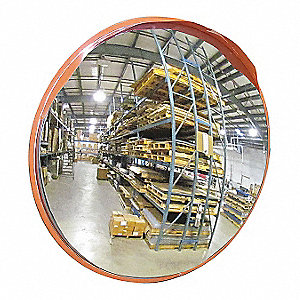 Outdoor Convex Mirror,40 In. Dia.