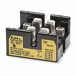 Fuse Block,Industrial,100A,2 Pole