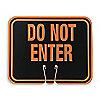 PANN CONE CIRCULATN,ORNG/NR,DO NOT ENTER