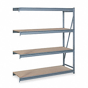 Bulk Storage Rack,Add-On,W 48,D 24,H 120