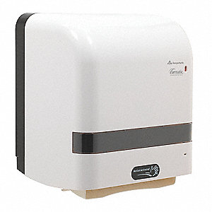 Cormatic® Proprietary Hardwound Automatic Paper Towel Dispenser, White