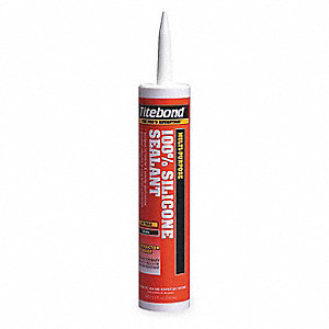 100% Silicone Sealant Clear, 10.1 oz. Size