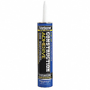 Construction Adhesive,10 oz,Brown/Grn