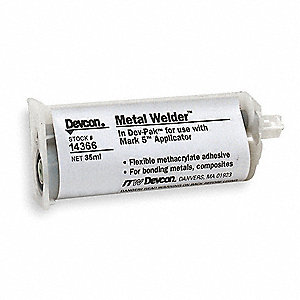 Metal Welder,35ml,Cartridge,Gray