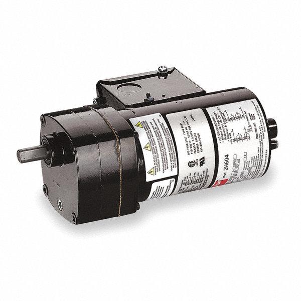 Dayton ac gearmotor 115 230 nameplate rpm 4 6 max torque for Dayton gear motor catalog