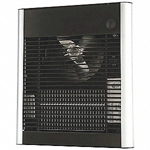 Electric Wall Heater, Recessed or Surface, 120VAC, Watts 1800