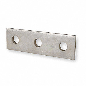 CONNECTING PLATE,STRAIGHT,3 HOLES,G