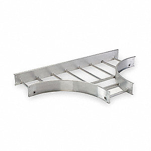 "60""L Horizontal Tee, Aluminum,  Model No. 248-12FT-24"