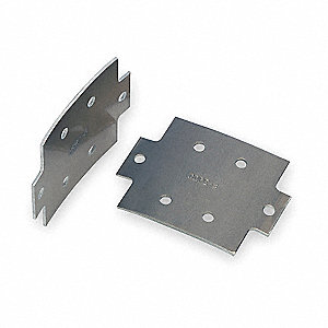 "Aluminum Ladder Tray Splice Plate, For Use With Cope 4"" Load Depth Aluminum Ladder Tray"