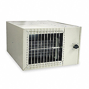 Electric Fan Coil Heater, Plenum, 240, Amps AC 19.84, 3 Phase, 25,598 BtuH