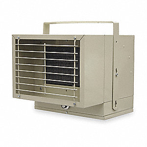 Electric Utility Heater, Voltage 240/208, kW 2.5/1.95, BtuH 8530/6398