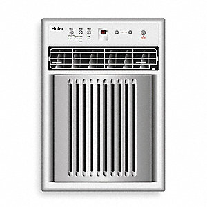 haier 115 window air conditioner slider casement white includes permanent mesh washable. Black Bedroom Furniture Sets. Home Design Ideas