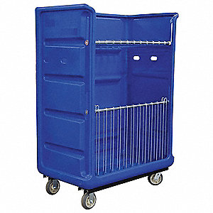 Turnabout,48 cu ft,Blue,Wire Shelves