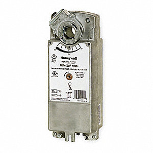 120VAC On/Off SPST Electric Actuator, -40° to 130°F, 175 in.-lb., 15 sec. Nominal @ 60 Hz, 15 sec. S