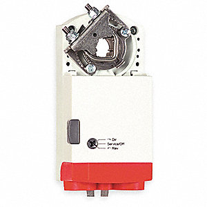 24VAC/DC On/Off, Floating SPDT Electric Actuator, -5° to 140°F, 44 in.-lb., 95 sec. Nominal @ 60 Hz,