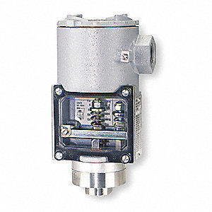 Diaphragm Pressure Switch, Differential: 12 to 45 psi, Range: 30 to 500 psi, NEMA Rating 4X