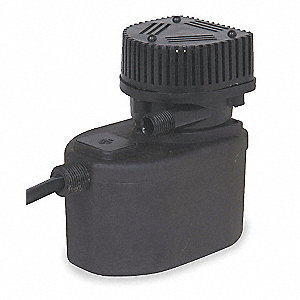 1/50 HP Compact Submersible Pump, 115V Voltage, Continuous Duty, 6 ft. Cord Length