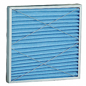 12-1/4x2x12-1/4 MERV 8 High Capacity Pleated Filter For Use With 2HNT2, 2HNT3, Frame Included: Yes