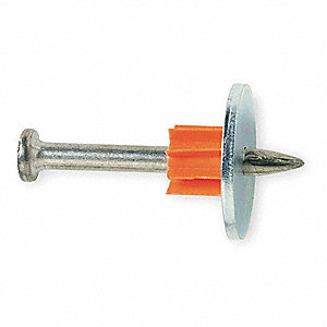 Fastener Pin With Washer,2 In,PK100