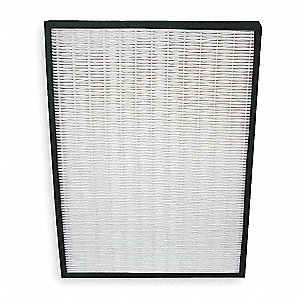 1-1/2x13-7/16x17-7/8 HEPA Carbon Filter For Use With 2HPB1, Frame Included: Yes