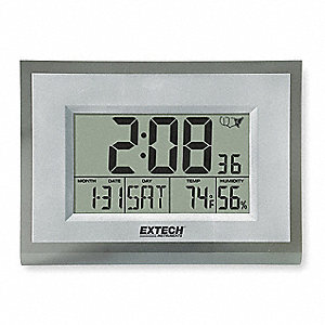Clock Digital Hygrometer,23 to 113 F