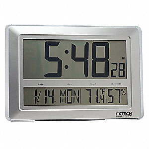 Clock Digital Hygrometer,23 to 122 F
