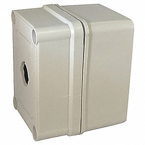 Pushbutton Enclosure, 4X NEMA Rating, Number of Columns: 1