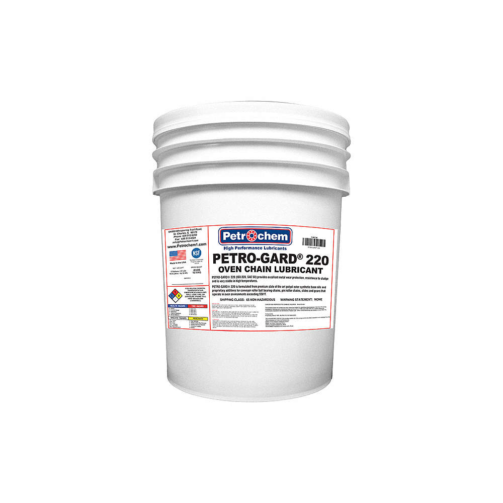 PETROCHEM Chain, Cable, Wire Lubricant, 5 gal. Pail, Synthetic Oil ...