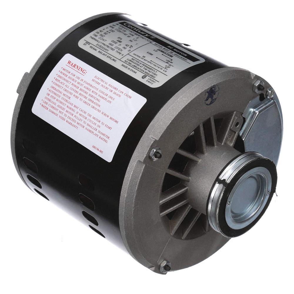1/2, 1/6 HP Evaporative Cooler MotorSplit-Phase 1725/1140 Nameplate RPM 230  Voltage 56Z Frame