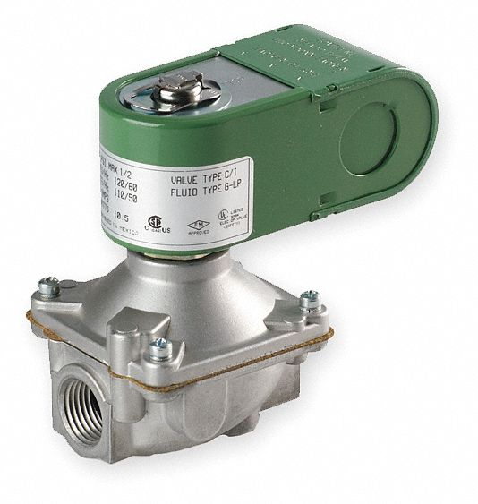 Fuel Oil And Gas Solenoid Valves