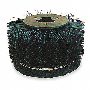 Baseboard Brush,7-3/4 In.,Nylon