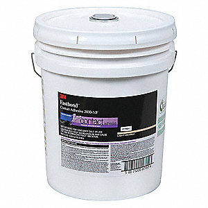 Clear 55 gal. Pressure Sensitive Adhesive, 1 EA