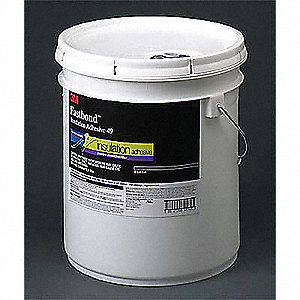 Clear 55 gal. Insulation Adhesive, 1 EA